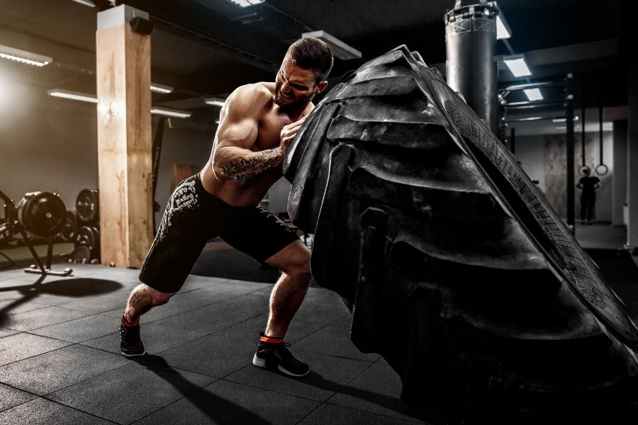 Upper and Lower body training routine